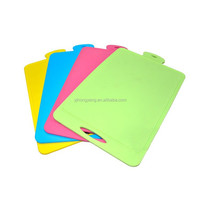 100% TPU silicone chopping board and flexible cutting mat and boards rubber feet for kitchen
