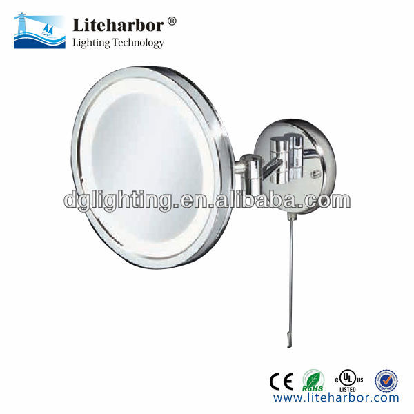 20cm round wall/surface mounting infinity mirror led