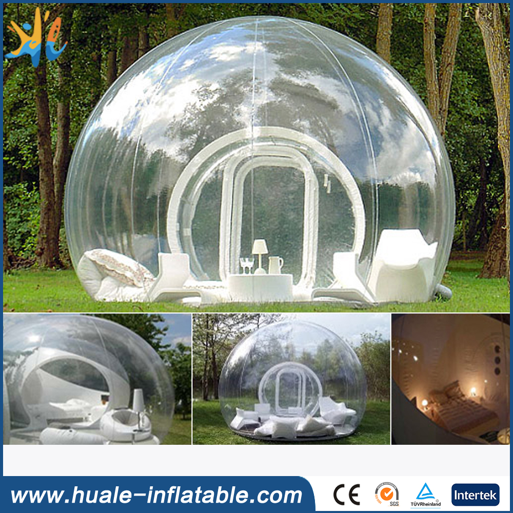 Inflatable igloo clear transparent event tent/garden igloo tent for sale