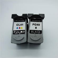 PG40 CL41 Compatible Ink Cartridge for Canon PG 40 CL 41 For Canon PIXMA iP1600 iP1200 iP1900 MX300 MX310 MP160 MP140 MP150