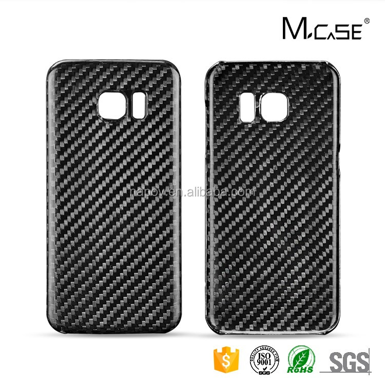 New Arrival 100% Real Carbon Fiber Cover For Samsung Galaxy S7 Edge Mobile Phone Case