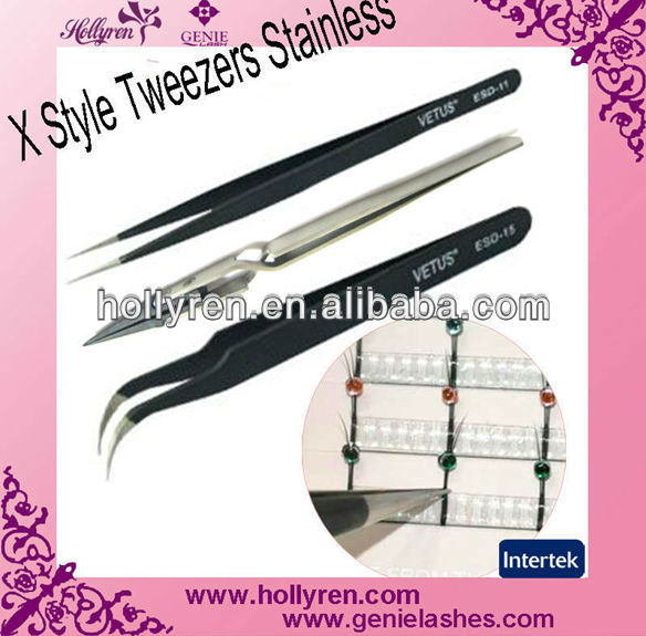 curved tweezers stainless,eyebrow tweezers