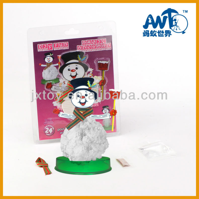 one dollar item magic paper snowman