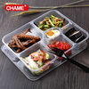 Hot sale 3 compartment meal prep food container, BPA free microwave safe leakproof PP plastic meal container