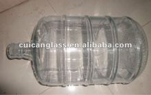 3 gallon big size glass bottle .hot sell