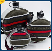 0.7L wool felt children outdoor round canteen