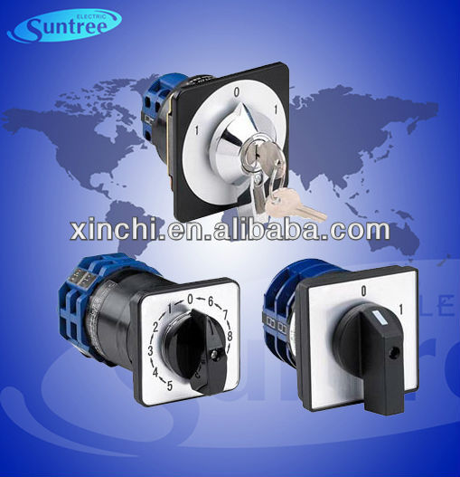 Rotary Switch LW26 Series electrical rotary cam starter limit switch