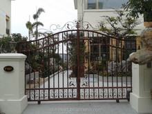 house gate designs iron gate for Home, Vila, Park, Garden gate designs 0355-009