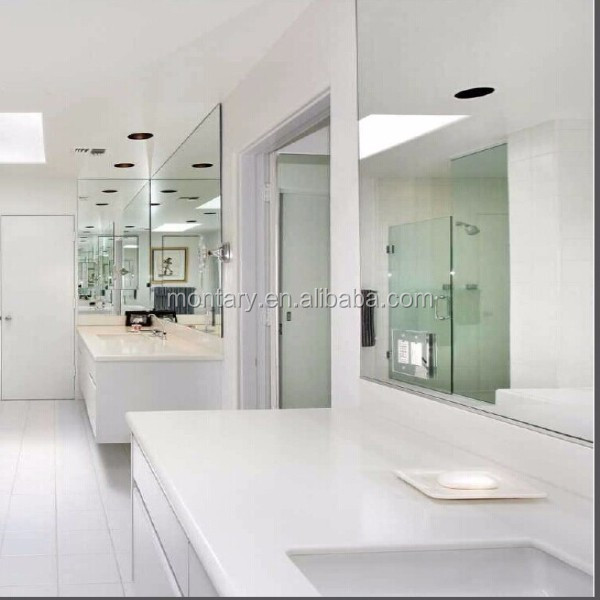 modern white bathroom countertops with built in sinks