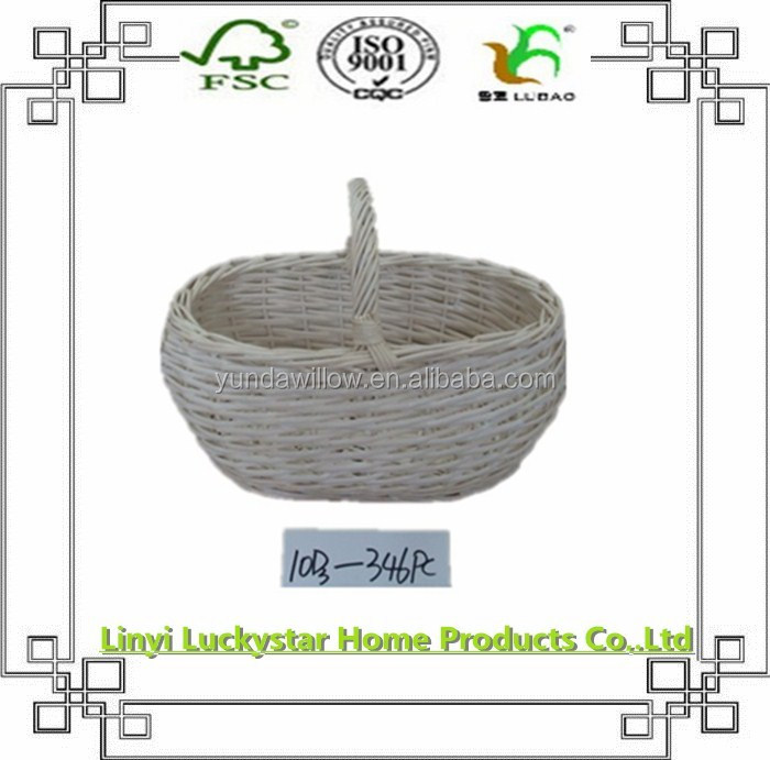 Small beautiful high-quality wicker fruit basket