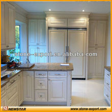 Solid Wood Modular Kitchen Cabinets
