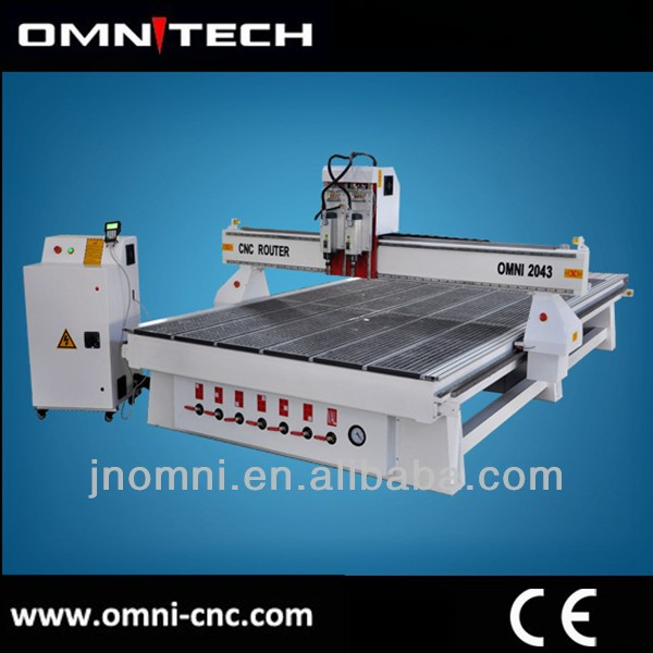 vertical machining center with all kinds of routers