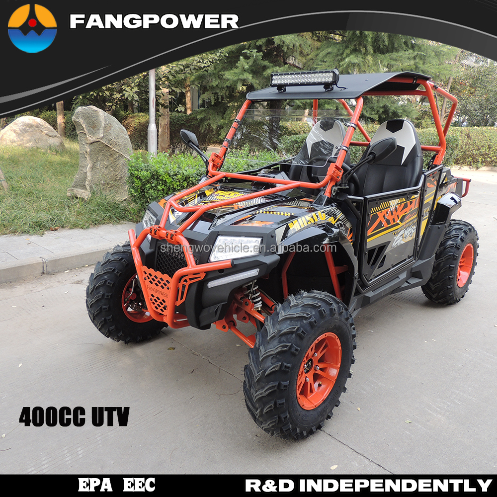 Adult and kids 2 seats 4 wheel dune sand beach buggy 400 CVT electric start go cart for sale
