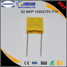 Factory direct small size MKP 0.1uf X2 275v capacitor type