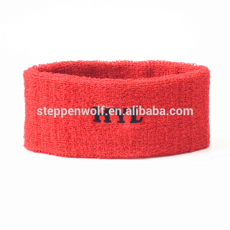 Hot selling product Tennis knitted Sports Sweatband For Head with wholesale price