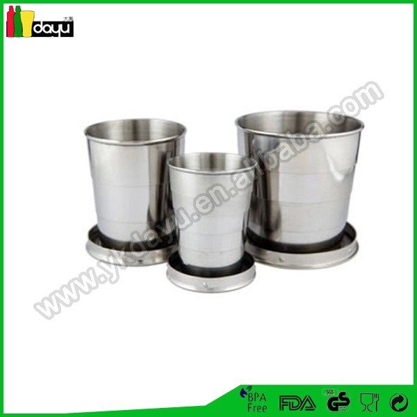 2015 hot Collapsible Coffee cup &glassware for candles