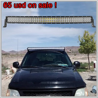42 inch off road light bar rear light with alu firm bracket