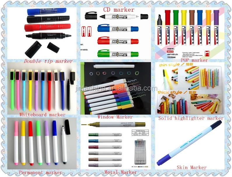 new arrival hotselling design glitter car paint marker pen
