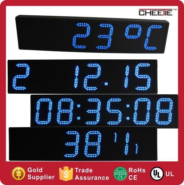 Digital Clock With Temperature Sensor \ Outdoor Temperature ...