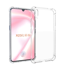 Four Corner Shockproof Soft TPU Bumper Case For VIVO X23 <strong>Symphony</strong>