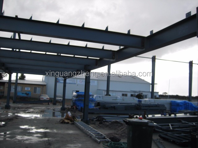 Prefabricated Steel Aircraft Hangar Project in Australia