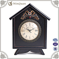 timer stand clock , vintage decoration for home table clock