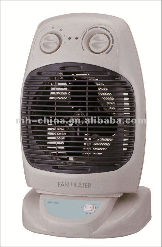 Electric portable desk Fan Heater made in China