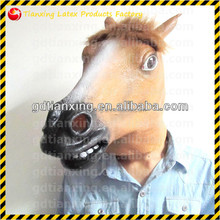 horse full head realistic Carnival latex mask no toxic mask
