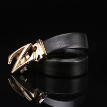 New coming custom design automatic man leather belt for wholesale