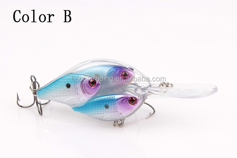 Baitball crank fishing lure Fish school Multicolor Kesun lure CHMN27 95mm17g