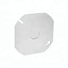 "2014 HOT Galvanized steel 4"" round outlets utility box cover"