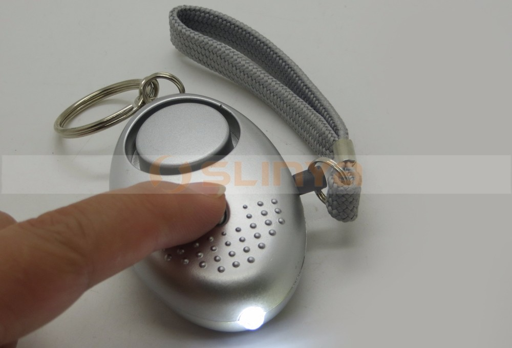 Mini Keychain Personal Security Alarm Against Intruders Attacker for Student Girls