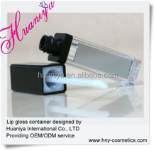 4.5ml lip gloss container with mirror