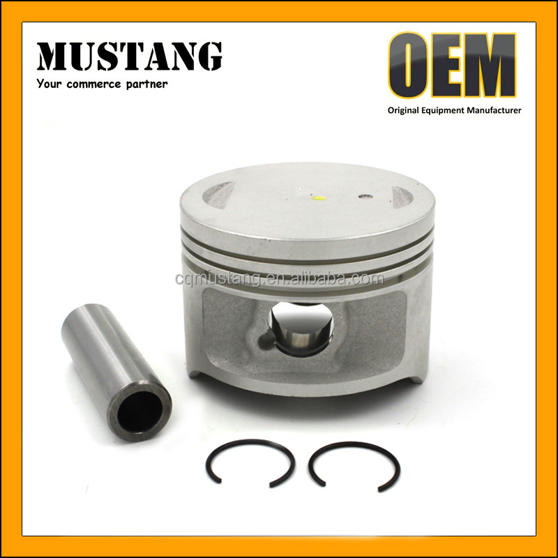 OEM Chongqing Quality Motorcycle Piston Factory for SUZUKI EN125 with Ring kit