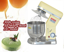 the cake mixer with egg whisk,dough hook,SL beater