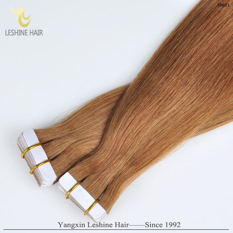 Invisible Adhesive PU Weft Fast Delivery Tape Hair Extension Factory Price