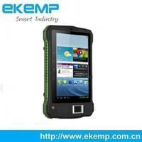 7 Inch Capacitive Touch Screen Biometric Rugged Tablet PC with Android System and Barcode Scanner