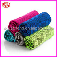 2015 The hot selling Icy cooling towel sports mat evaporative cooling towel, Jiacheng Factory offer