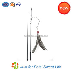 "Innovative Pet Products Similar as ""Da bird"" Feather Cat Dangler"