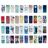 Colored Drawing PC Hard Ultra-thin Back Case for iPhone 6