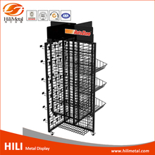 Stand Metal Wire Display Rack for Hanging Item