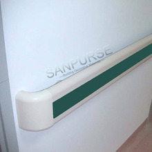 140mm PVC wall mounted rail for Hospital Porch use