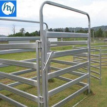 Portable Heavy Duty Galvanized Cattle Yard Horse Fence Panel livestock panels