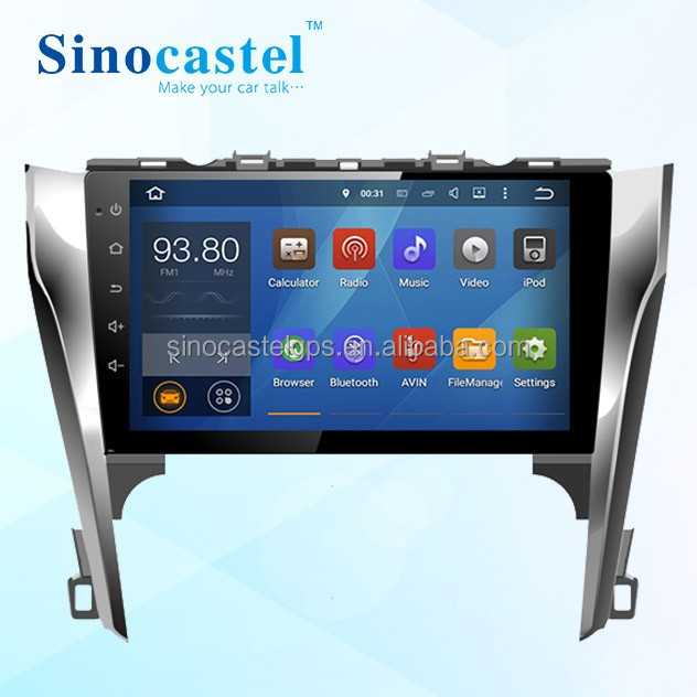 Cheap Toyota Camry 2012 Touch Screen Car DVD Player With GPS & Navigation & Bluetooth & Canbus