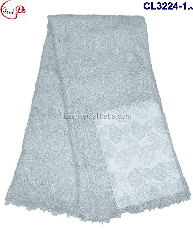 CL 3224 new fashion design African fabric wholsaler high quality factory costy new flower embroidery french lace