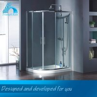 Export Quality New Coming One Piece Fiberglass Shower Enclosures Accessory Bathroom