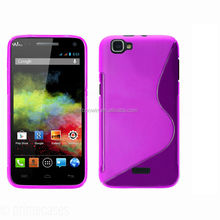 for wiko rainbow purple s line case tpu case high quality factory price