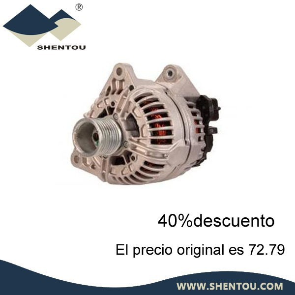 CA1812IR Auto Spare Parts Alternator 28V 100A For Iveco Lucas