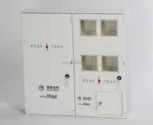 ABS and Poly Plastic Single Phase indoor electric meter box