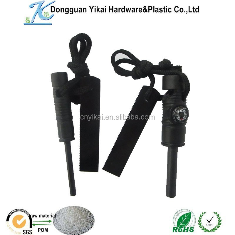 Dongguan Yikai magnesium stone flint fire starter outdoor survival compass whistle